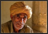 In a Temple. Jaisalmer.
