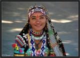 A Gipsy Dancer. Khimsar.