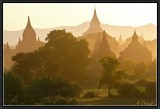 Translucent pagodas.