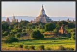 Shwesandaw Pagoda. Sunset Light.