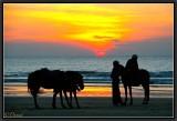 Sunset. Ngwe Saung.