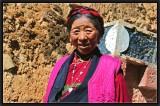 A Tibetan Woman.