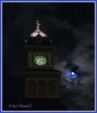 Courthouse moon