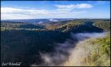 DJI drone view from Water Tank Vista