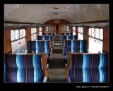British Rail Mark 1 Coach Interior