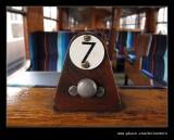 British Rail Mark 1 Coach Seat Number