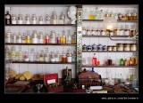 Chemists Shelving, Beamish Living Musem