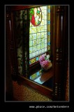 Stained Glass Reflection, Beamish Living Musem