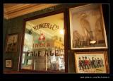Advert Mirror, The Sun Inn, Beamish Living Musem