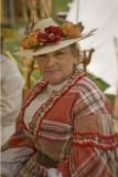Civil War Re-enactors at the Genoa Cowboy Festival... the ladies