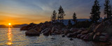Sand Harbor Sunset... the Boys.