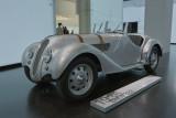 Vintage Cars. A visit at the BMW-Museum Munich