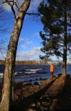 A windy day at Lake Pyhäjärvi