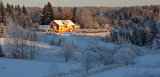 Last emabrace of winter light