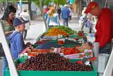 Selling berries, Tampere