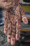 Laxmi's beautiful hand