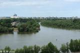 Sava River meets Danube River DSC_6015