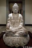 Seated Stone Buddha