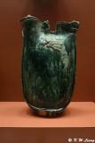 Green Glazed Pilgrims Flask DSC_6001