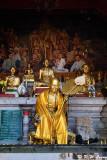 Golden statue of an old buddhist monk DSC_1869