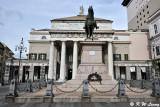 Statue of Giuseppe Garibaldi in front of the theatre Carlo Felice DSC_5964