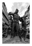 The Statue in Pamplona