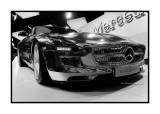 Mercedes SLS AMG Electric drive, Paris