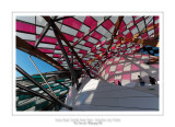 Fondation Louis Vuitton colorized by Daniel Buren 3