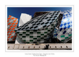 Fondation Louis Vuitton colorized by Daniel Buren 4
