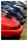 Porsche 964 row, Le Mans 2016