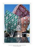 Fondation Louis Vuitton colorized by Daniel Buren 24