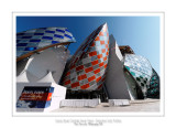 Fondation Louis Vuitton colorized by Daniel Buren 28