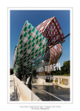 Fondation Louis Vuitton colorized by Daniel Buren 36