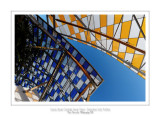 Fondation Louis Vuitton colorized by Daniel Buren 38