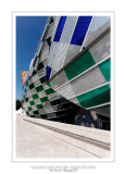 Fondation Louis Vuitton colorized by Daniel Buren 43