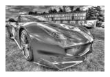Cars BW HDR 93