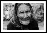 Old lady, Rewalsar, India 2015