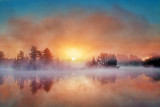 Misty Rideau Canal Sunrise 20130514