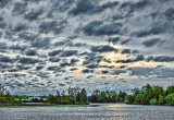 Rideau Canal Clouded Sunrise 20130525