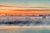Misty Rideau Canal Sunrise 20130528