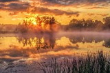 Misty Rideau Canal Sunrise 20130617