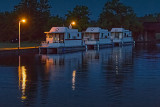 Houseboat Row At First Light 34970-2