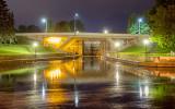 Beckwith Street Bridge At Night 20130710