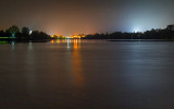 Night Lights Of Smiths Falls In The Background 20131002