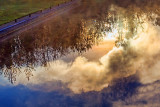 Steam Plume Reflected 37720