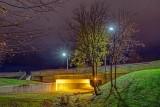 Pedestrian Underpass At Night 20131107