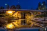 Beckwith Street Bridge At Dawn 20131113