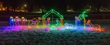Christmas Nativity In Lights 40428-33