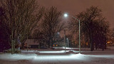 Riverdale Avenue On A Wintry Night 20131220