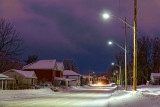 Wintry Queen Street At Dawn 20131222